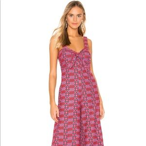Tularosa Betsy Embroidered Jumpsuit